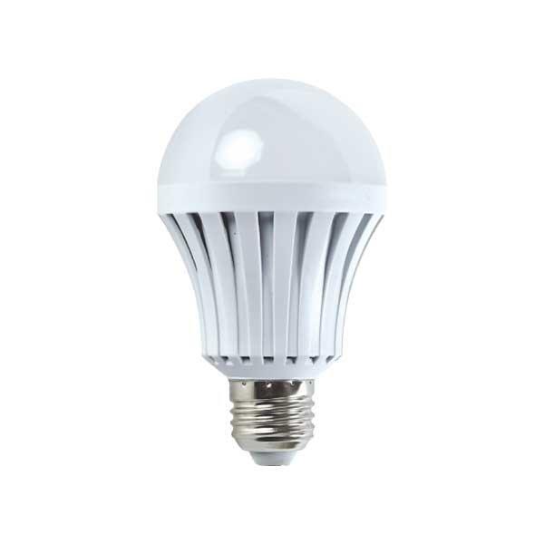 LED žárovka A60 E27 10W 750 lm 2700K, hliníková