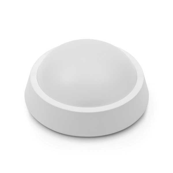 LED přisazené svítidlo s mikrovlnným čidlem IP65 8W 640 lm 2700K