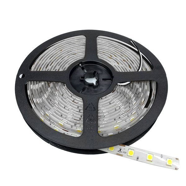 LED páska zalitá IP65 12V 14.4W/m 60LED/m 6000K