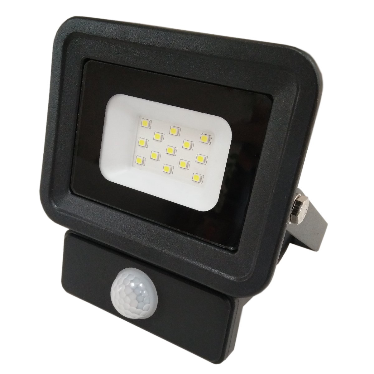 LED reflektor SMD CLASSIC2 PIR IP65 černý 10W 6000K